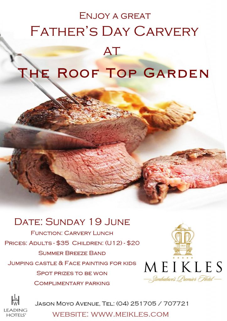 meikles fathers day lunch flyer ls designs